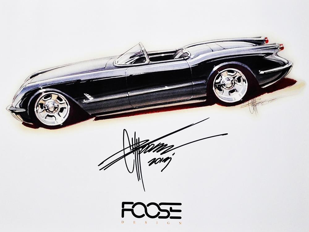 Signed Chip Foose Art