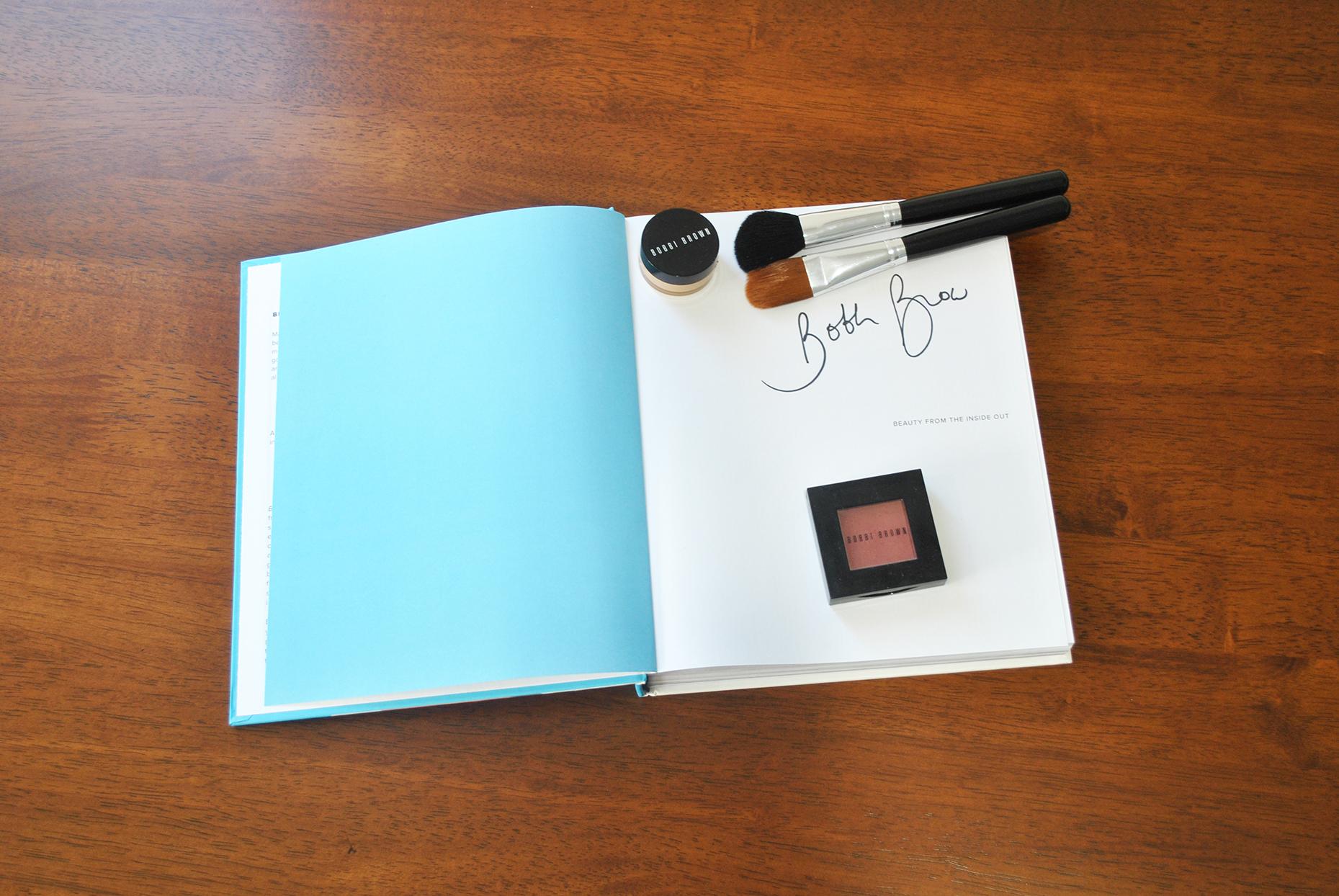 Signed Bobbi Brown Book