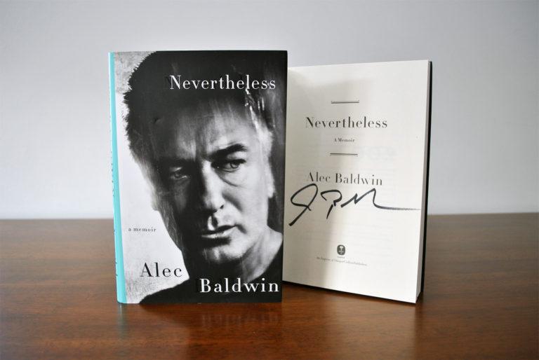 Alec Baldwin - Nevertheless - Signed Memoir