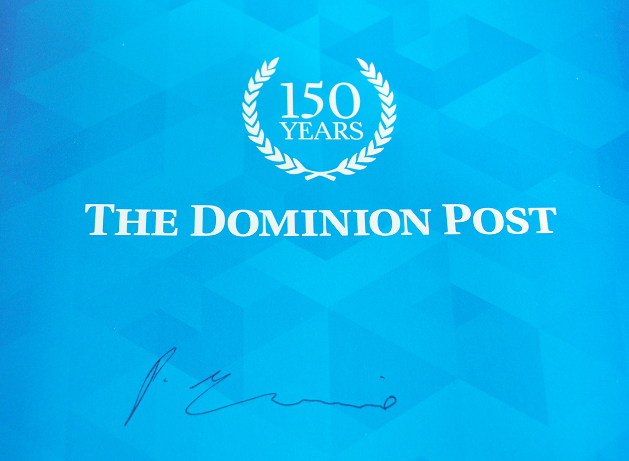 150 Years of the Dominion Post