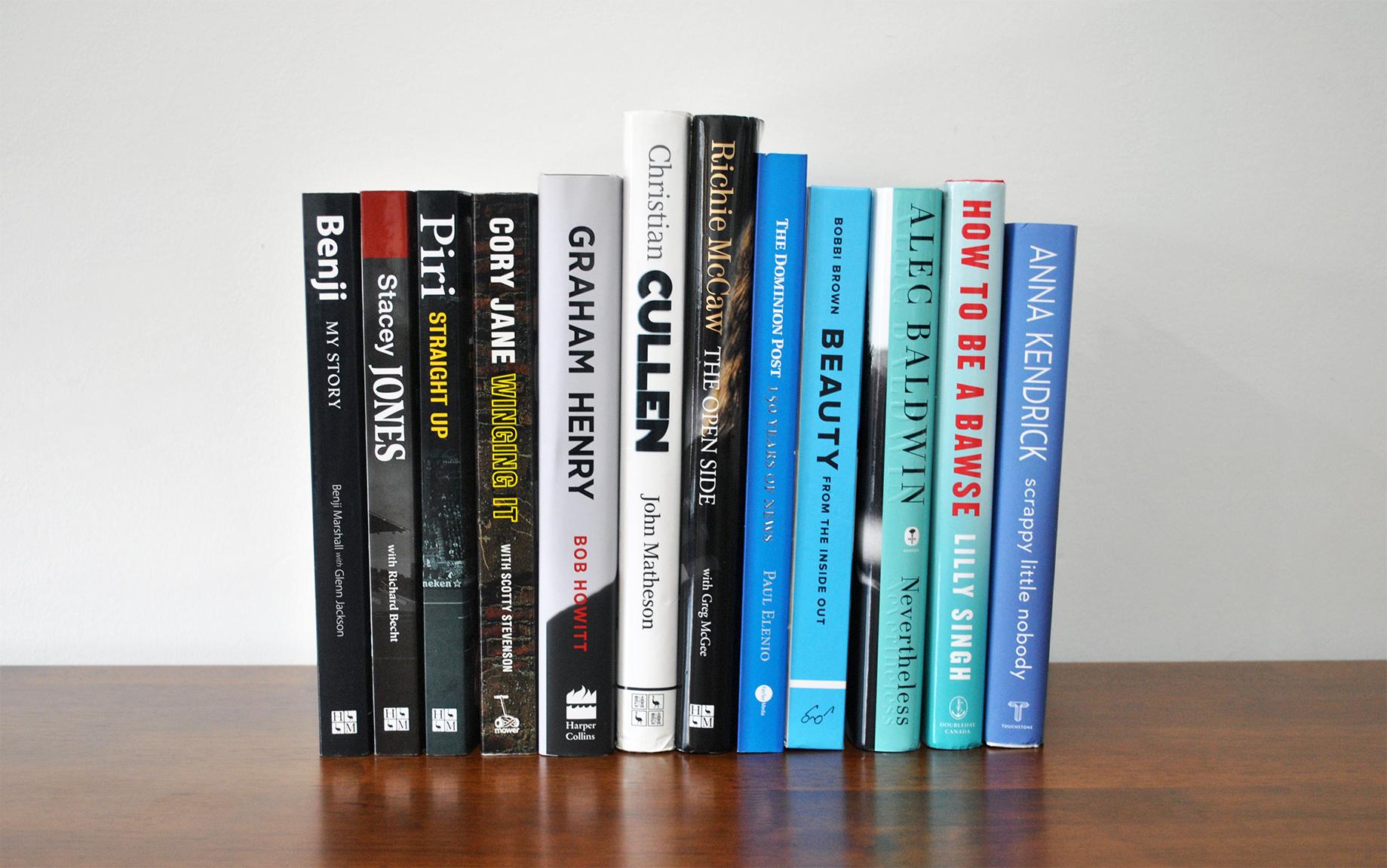 Memorabilia - Autographed Books