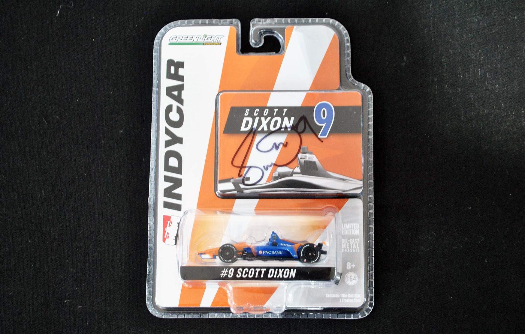 Signed Scott Dixon IndyCar Model