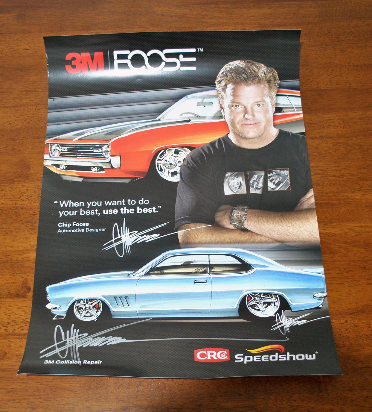 Chip Foose CRC Speedshow