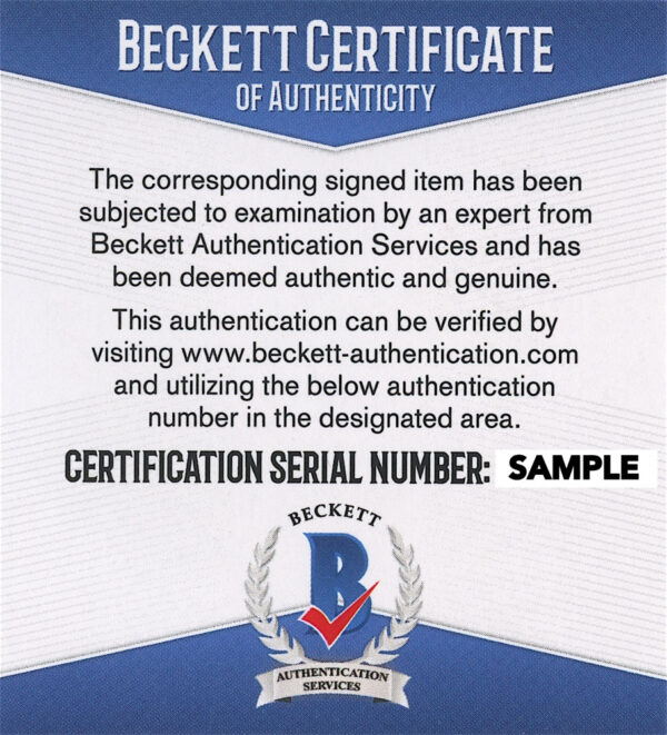 Beckett COA