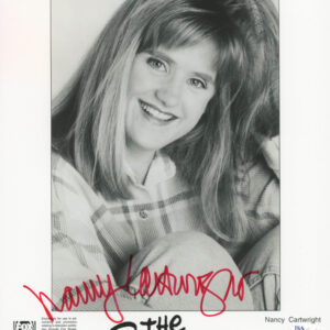 Verified Insignia Authentic Signed The Simpsons Nancy Cartwright