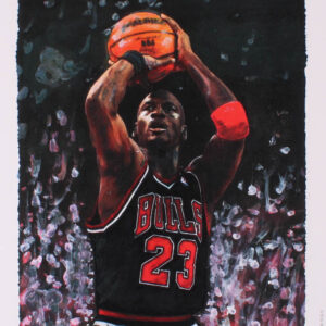 Verified Insignia Authentic Autographed Michael Jordan - Lithograph
