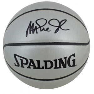 Verified Insignia Authentic Autographed Magic Johnson Basketball
