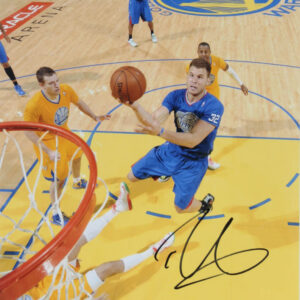 Verified Insignia Authentic Autographed Blake Griffin Los Angeles Clippers Photo