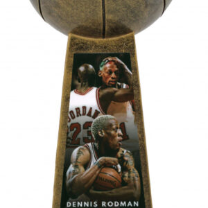 Verified Insignia Authentic Autographed Dennis Rodman Trophy