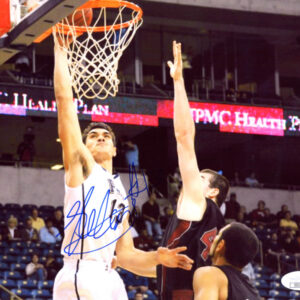 Verified Insignia Authentic Autographed Steven Adams Pittsburgh Panthers Photo